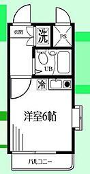 神奈川県座間市相模が丘6の賃貸マンションの間取り