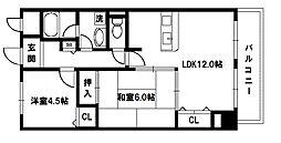 メルヴェーユコマドリ[5階]の間取り