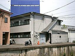 大阪府茨木市美沢町の賃貸アパートの外観