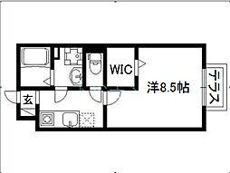 ウノハウス[1階]の間取り
