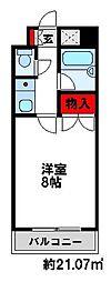 キャンパスシティ太宰府[506号室]の間取り