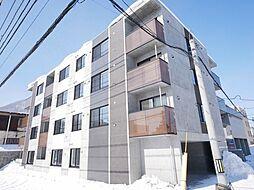 北海道札幌市西区山の手一条9丁目の賃貸マンションの外観