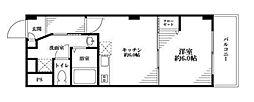 シェモワ新宿[3階]の間取り