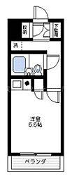 ライオンズマンション吉野町第12[5階]の間取り