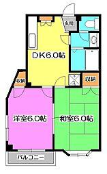 Maison・de・Leo 〜メゾン・ドゥ・レオ〜[4階]の間取り