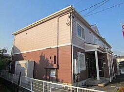 愛知県あま市木田池ノ島の賃貸アパートの外観