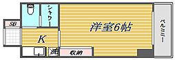 ライオンズマンション三軒茶屋第6[4階]の間取り