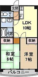 ルアーブル村井[106号室号室]の間取り