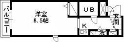 ジョイフル武蔵関弐番館[0208号室]の間取り