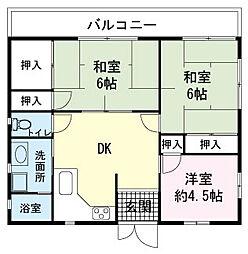 [一戸建] 静岡県伊豆の国市四日町 の賃貸【/】の間取り
