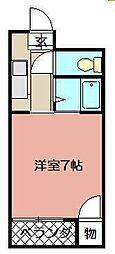 ギャラン小芝[203号室]の間取り