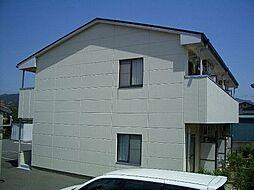 福岡県糟屋郡篠栗町大字尾仲の賃貸アパートの外観