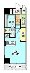 Mondo Fuji 3[6階]の間取り