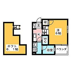 casa solana[1階]の間取り
