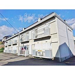 静岡県裾野市千福の賃貸アパートの外観
