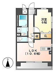 (仮称)岩塚本通1丁目マンション[2階]の間取り