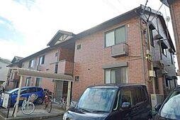広島県広島市安佐南区大町西1丁目の賃貸アパートの外観