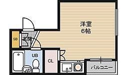 メゾンドツリー[2階]の間取り