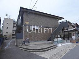 京都府京都市左京区一乗寺下リ松町の賃貸アパートの外観