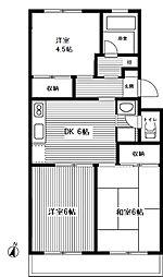 宮崎台レジデンス[2階]の間取り