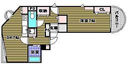 ラビクレール[2階]の間取り