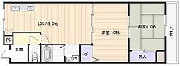 ループ3番館[3階]の間取り