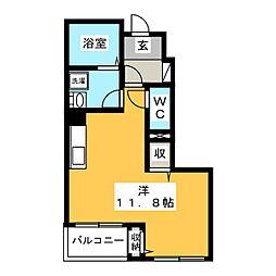 仮)本今K様アパート[1階]の間取り
