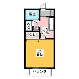 サン・friendsITO[2階]の間取り