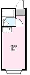 東京都板橋区徳丸2丁目の賃貸アパートの間取り