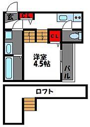 ソートフルI[2階]の間取り