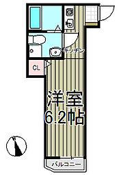 フェリーチェ本郷台[2階]の間取り