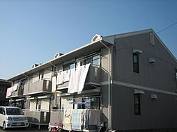 東京都葛飾区東水元1丁目の賃貸アパートの外観