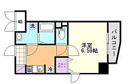(仮)D-Room東高砂[206号室]の間取り