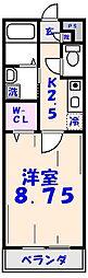 第3エーデルハイム[106号室]の間取り