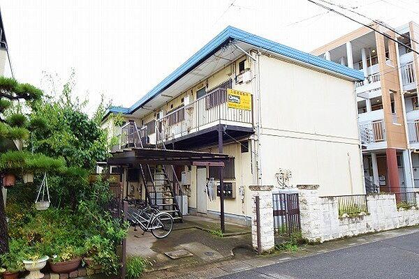千寿コーポ[2階]の外観