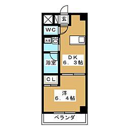 アンシャンテ[9階]の間取り