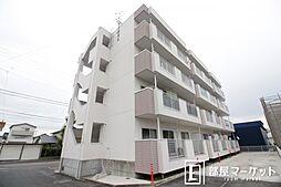 愛知県豊田市上野町4丁目の賃貸マンションの外観