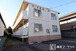 愛知県岡崎市日名中町の賃貸アパートの外観