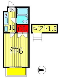 北小金駅 2.4万円