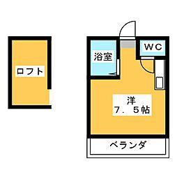 ルート筥松[1階]の間取り
