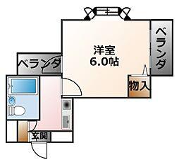 ドール甲子園口[5階]の間取り