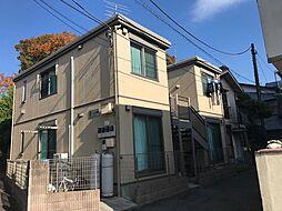 神奈川県横浜市港北区綱島東2丁目の賃貸アパートの外観