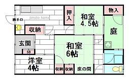 [一戸建] 大阪府茨木市春日1丁目 の賃貸【/】の間取り