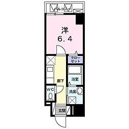 東京都墨田区向島2丁目の賃貸マンションの間取り