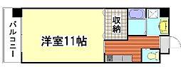 ロイヤルシャトー大須[6階]の間取り