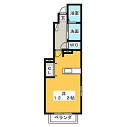 ティータイム[1階]の間取り