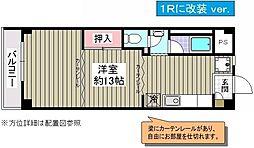 シャロス浅川[302号室]の間取り