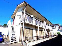 東京都東大和市新堀2丁目の賃貸アパートの外観