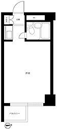 日本橋センチュリープラザ[7階]の間取り