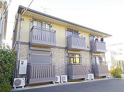 東京都東大和市中央2の賃貸アパートの外観